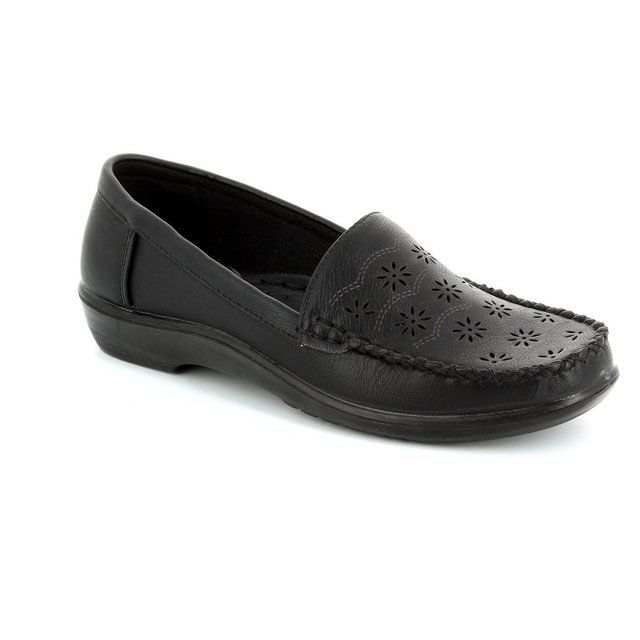 Antonio Dolfi Globo 523501-80 Black loafers