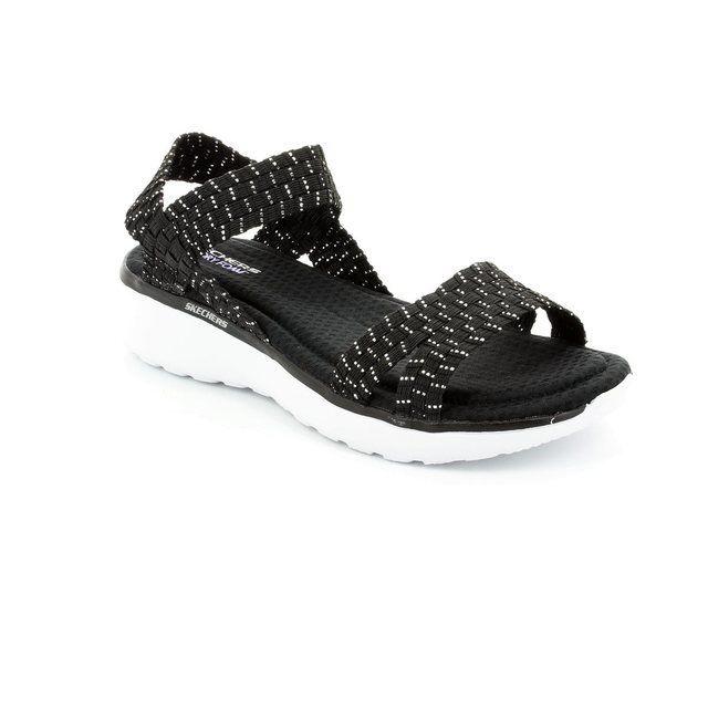 Skechers Sandals - Black-Silver - 38596/30 COUNTERPART