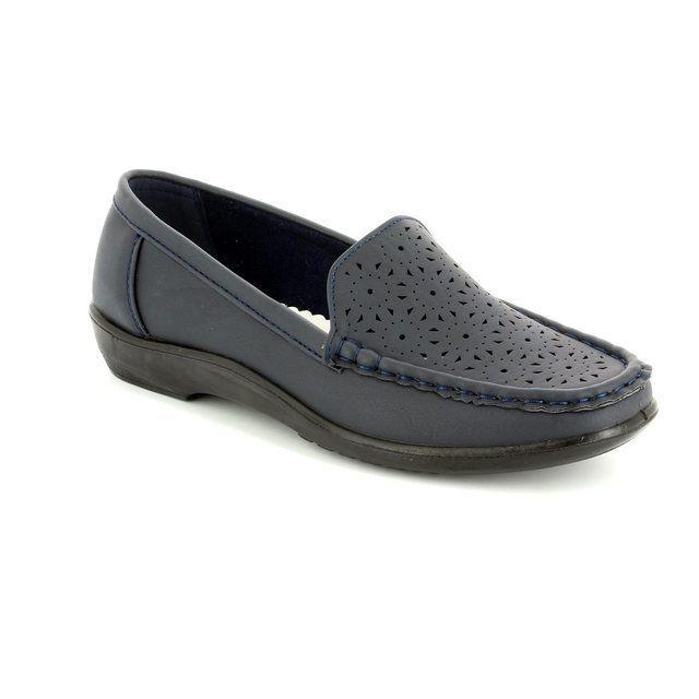 Antonio Dolfi Globo 61 523502-40 Navy loafers