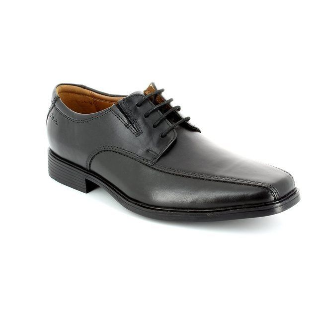 Clarks Tilden Walk Black formal shoes