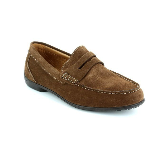IMAC 50271-7634017 Brown suede or snake fashion shoes