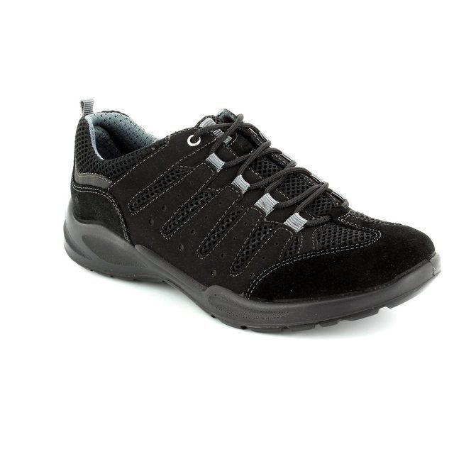 IMAC Runner 52501-7000011 Black lacing shoes