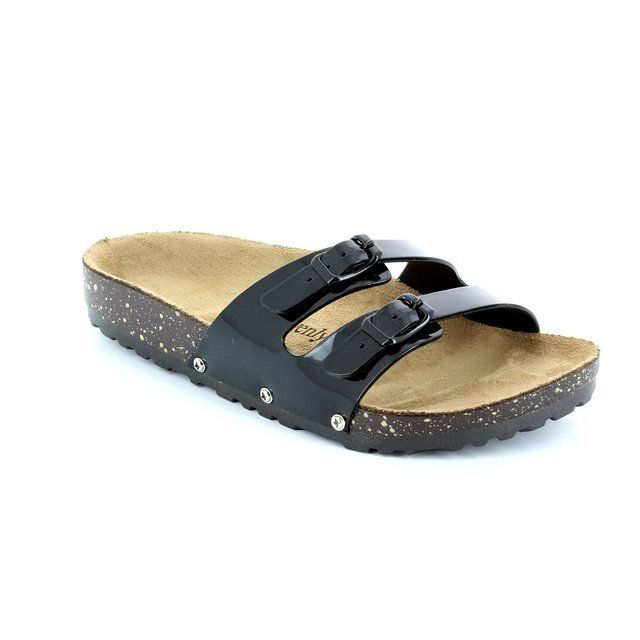 Heavenly Feet Sandy 61 5002-30 Black sandals