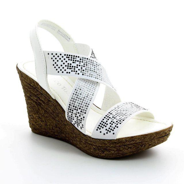Marco Tozzi Oregano 61 28351-100 White sandals