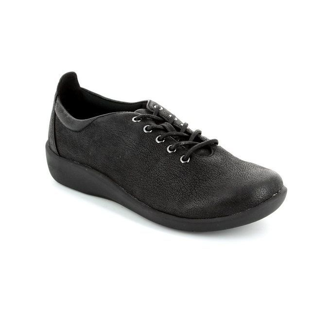Clarks Trainers & Canvas - Black - 1233/24D SILLIAN TINO