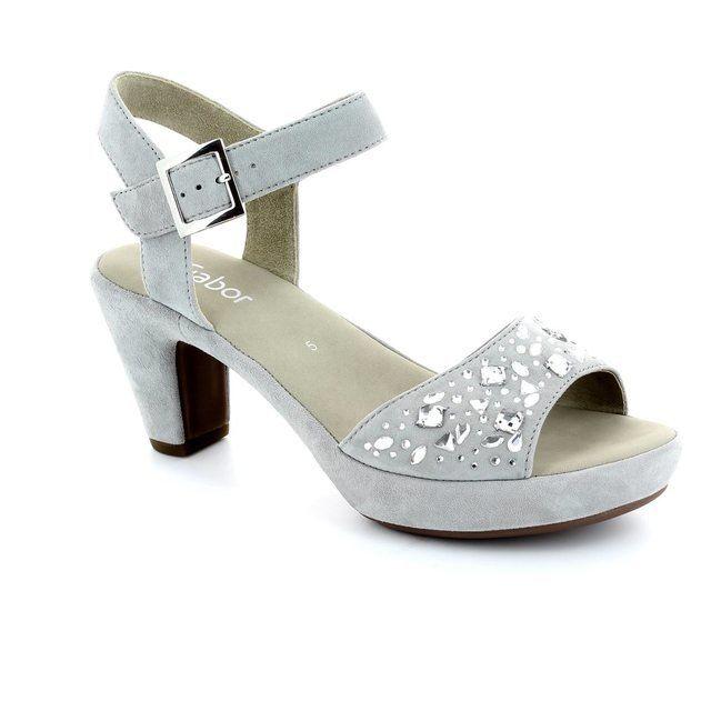 Gabor Abe 45.751.11 Grey sandals
