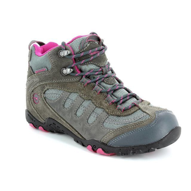 Hi-Tec L Penrith Mid 2890-51 Grey lacing shoes