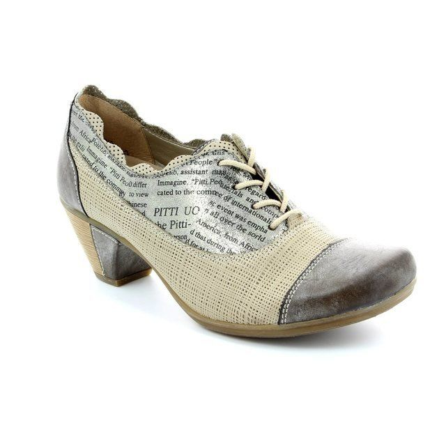 Remonte Dorndorf Heeled Shoes - Taupe multi - D1208-25 DOLETANG