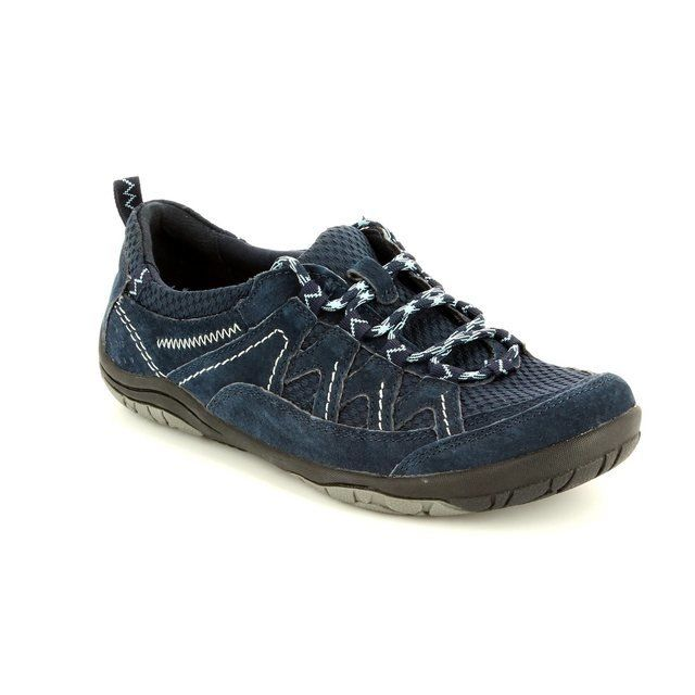 Earth Spirit Atlanta 61 21020-70 Navy lacing shoes