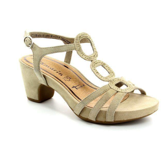 Tamaris 28397-355 Beige sandals