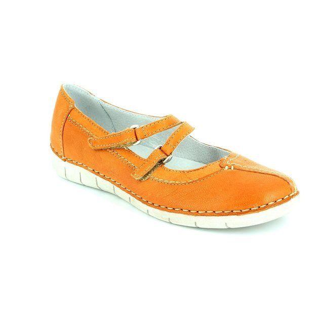 Relaxshoe 200105-10 Orange comfort shoes