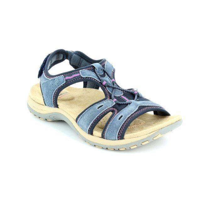 Earth Spirit Columbia 21049-70 Navy sandals