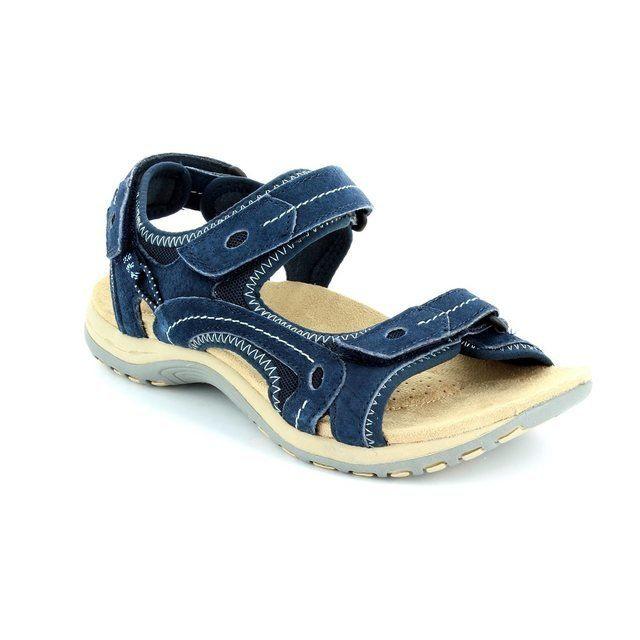 Earth Spirit Arlington 61 21039-70 Navy sandals