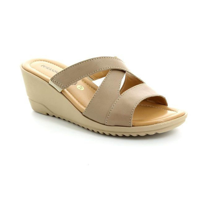 Relaxshoe Sandals - Beige - 044018/50 BEWITCHED