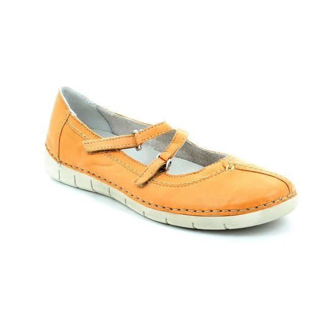 Relaxshoe 200105-11 Orange comfort shoes
