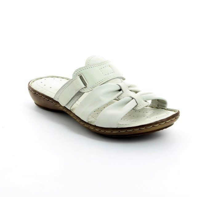 Relaxshoe Sandals - White - 097110/60 TOLLVEL