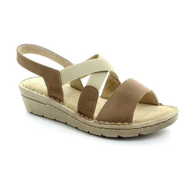 Relaxshoe 132105-50 Taupe nubuck sandals