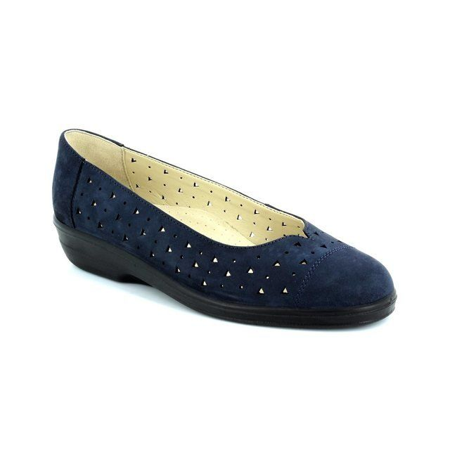 Padders Everyday Shoes - Navy - 0646/25 FAYE