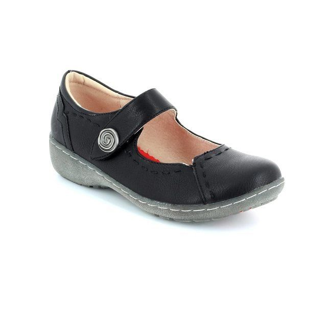 Heavenly Feet Everyday Shoes - Black - 5005/30 SCARLET 61