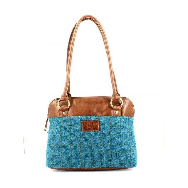 Shetland Tweed Shoulder 5030-73 Tweed handbag