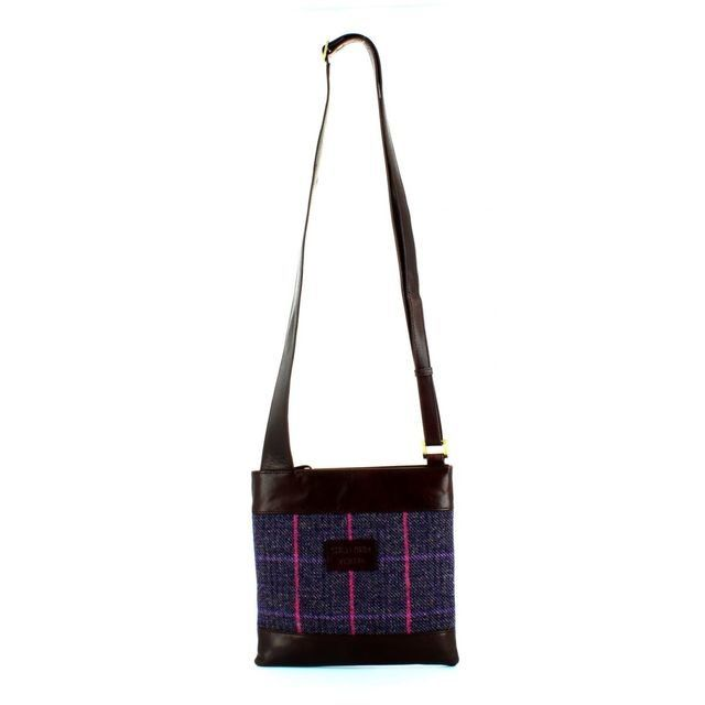 Shetland Tweed Body Bag 7524-92 Tweed handbag