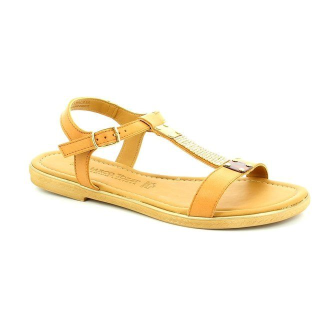 Marco Tozzi Ruta 61 28134-305 Tan sandals