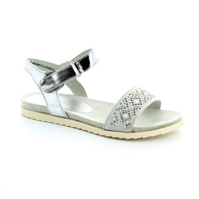 Marco Tozzi Prasco 28403-948 Silver sandals