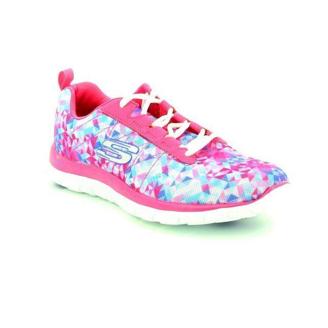 Skechers Flex Appeal Mf 12444 PIN Pink trainers