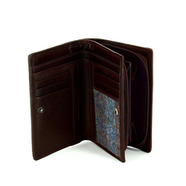 Shetland Tweed 3115-82 Blue purse