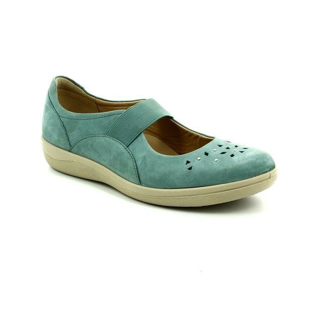 Padders Everyday Shoes - Teal blue - 0229/62 FLARE