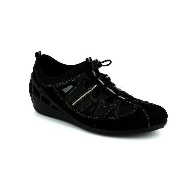 Rieker Trainers & Canvas - Black - 59565-00 JETTEL
