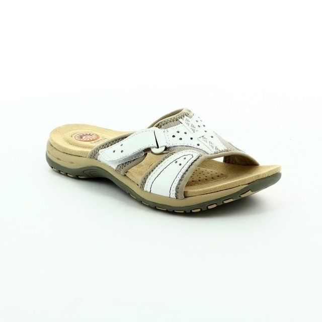 Earth Spirit Indiana 61 21060-60 White sandals