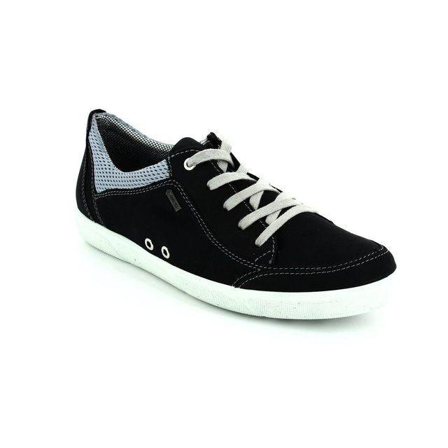 Ara 1239636-05 Navy lacing shoes