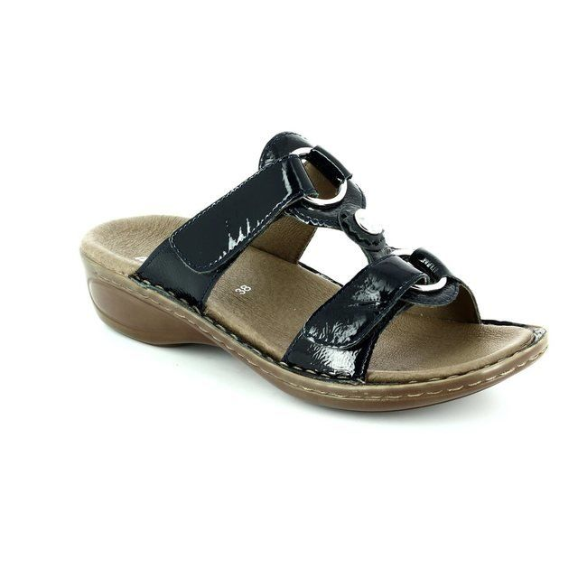Ara Sandals - Navy patent - 1227273/15 HAWAII