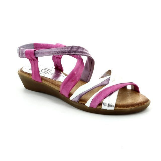 Marila Inca 737 IN-66 Pink multi sandals