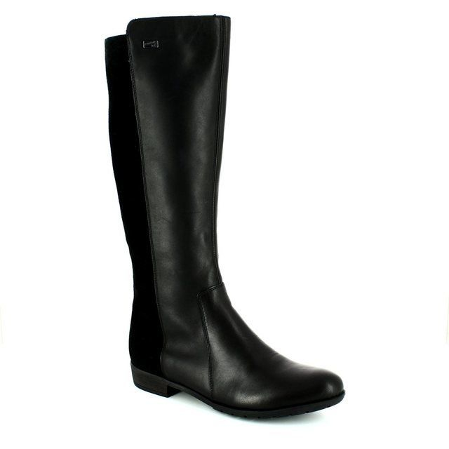 Remonte Boots - Long - Black - D5773-01 LIA TEX