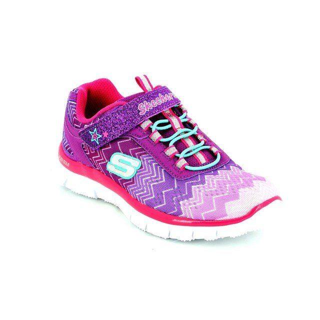 Skechers Cosmic 81872 PRNP Purple-Pink everyday shoes