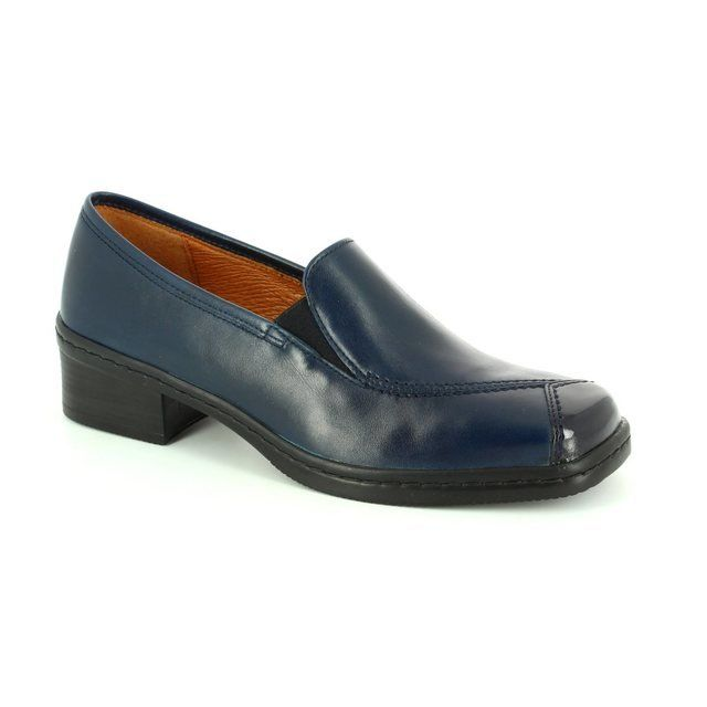 Gabor Everyday Shoes - Navy patent - 36.056.66 REGGABOR