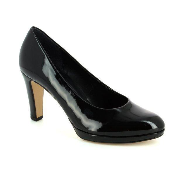 Gabor Splendid 61.270.77 Black patent high-heeled shoes