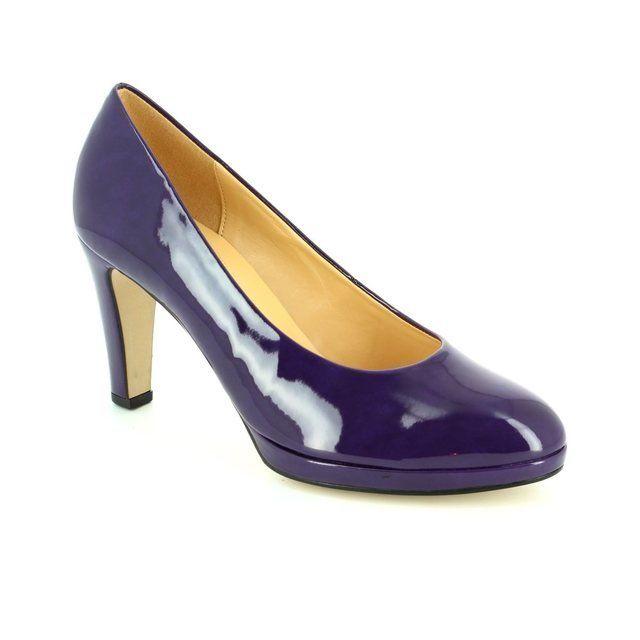 Gabor Splendid 51.270.63 Purple high-heeled shoes
