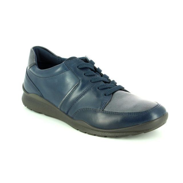 ECCO Mobile 62 215143-52668 Navy lacing shoes