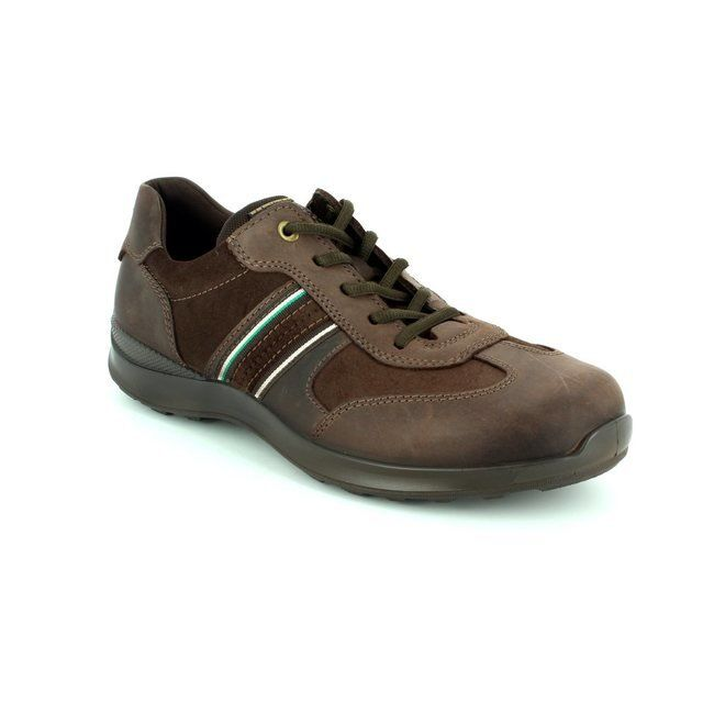 ECCO Shoes - Brown nubuck - 501314/58290 HAYES