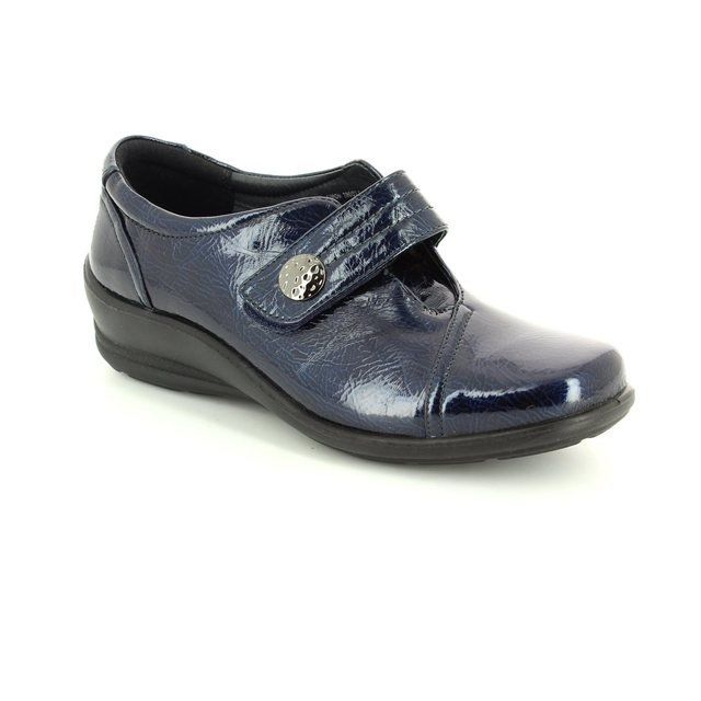 Padders Everyday Shoes - Navy patent - 0200/23 SIMONE E-EE