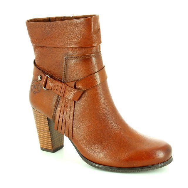 Marco Tozzi Boots - Short - Tan - 25004/410 MORICO