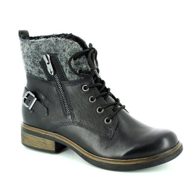 Tamaris Helios 25110-001 Black ankle boots