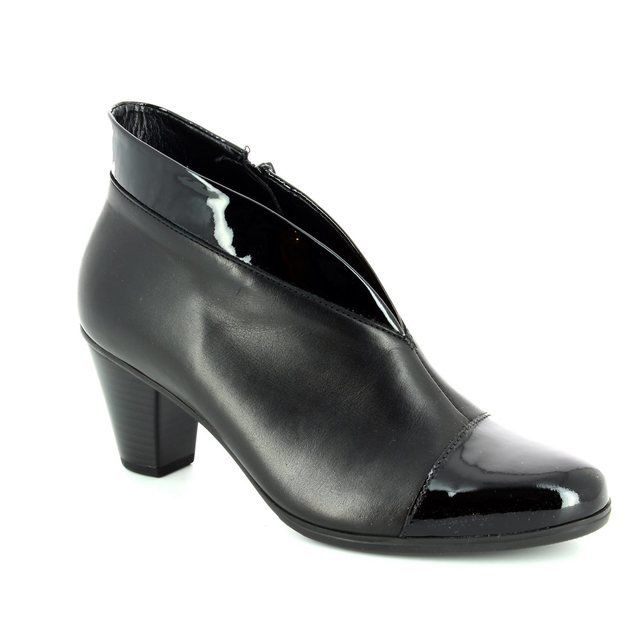 Gabor Boots - Ankle - Black patent - 35.616.97 TOOLA