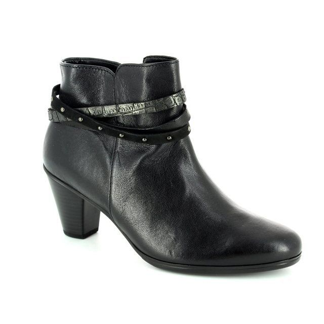 Gabor Solero 55.611.57 Black ankle boots