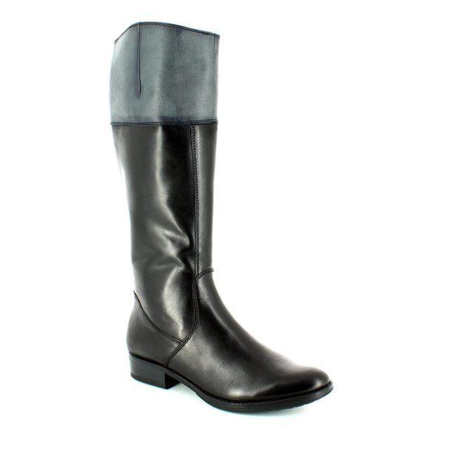 Tamaris 25500-050 Black multi long boots