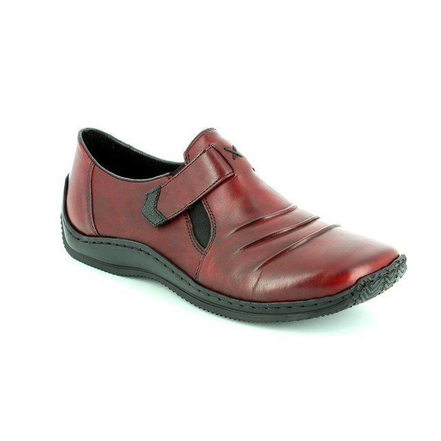 Rieker L1763-35 Wine comfort shoes