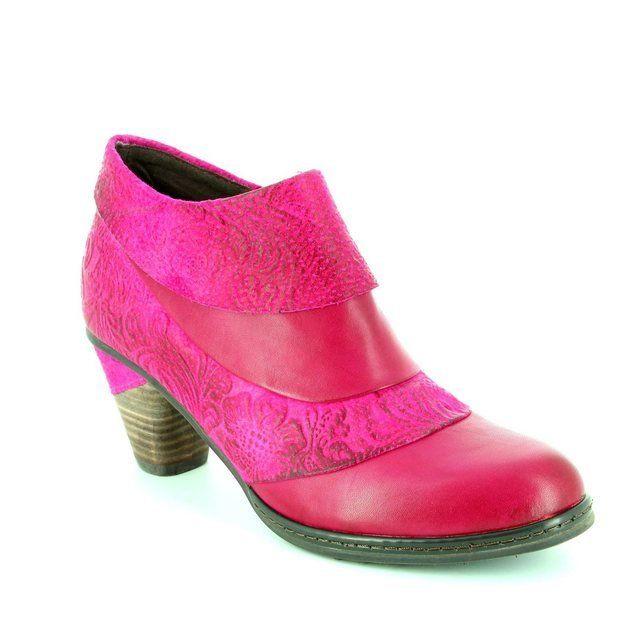 Laura Vita Alizie 04 Wine 2008-80 Fuchsia shoe-boots